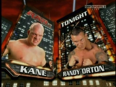 Kane vs Randy Orton - Raw 12-01-09